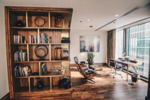 Wood Floor Family Room